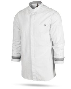 پیراهن نخی مردانه 1197- سفید (10)