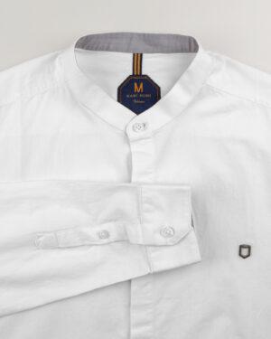 پیراهن نخی مردانه 1197- سفید (11)