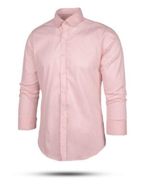پیراهن کتان مردانه VK9915- صورتی (6)