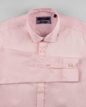 پیراهن کتان مردانه VK9915- صورتی (7)