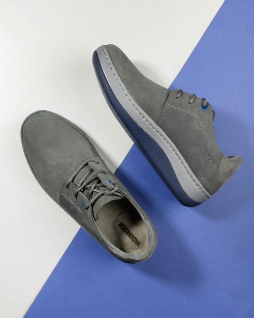 کفش مردانه VK108- طوسی (1)