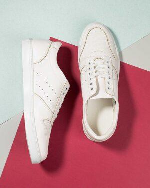 کفش مردانه VK206- سفید (1)