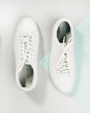 کفش چرم مردانه VK201- سفید (1)