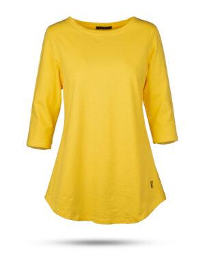 تیشرت زنانه 1306-زرد (1)