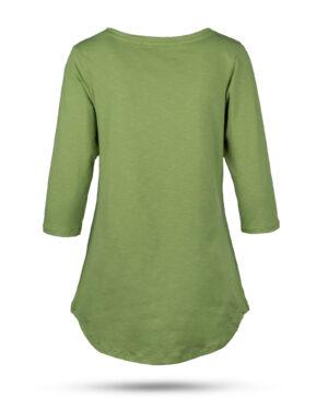 تیشرت زنانه 1306- سبز چمنی (2)