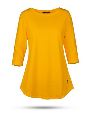 تیشرت زنانه 1306- نارنجی (1)