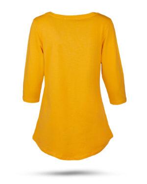 تیشرت زنانه 1306- نارنجی (2)