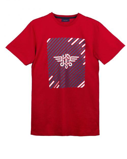 تیشرت مردانه 1415- قرمز (2)