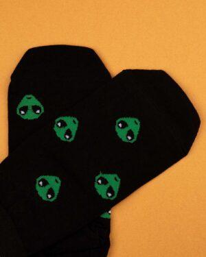جوراب مردانه S25-T1- مشکی (2)