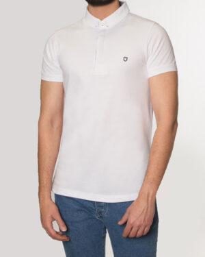 پلوشرت مردانه 0975- سفید (1)