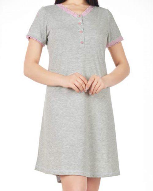 پیراهن زنانه 0761- ملانژ (1)