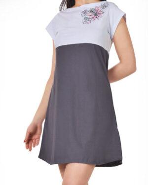 پیراهن زنانه 0797- دودی (2)