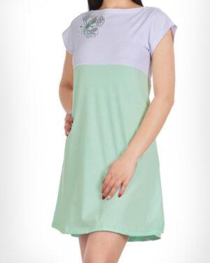 پیراهن زنانه 0797- سبز زمردی (3)