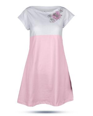 پیراهن زنانه 0797- صورتی (1)