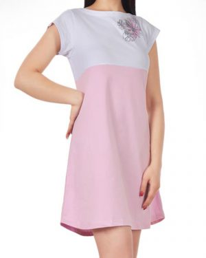 پیراهن زنانه 0797- صورتی (3)
