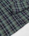پیراهن چهارخانه مردانه RWVK188-T1- سبز دریایی (5)