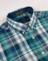 پیراهن چهارخانه مردانه vk991- سرمه ای (3)