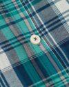 پیراهن چهارخانه مردانه vk991- سرمه ای (4)