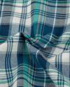 پیراهن چهارخانه مردانه vk991- سرمه ای (7)