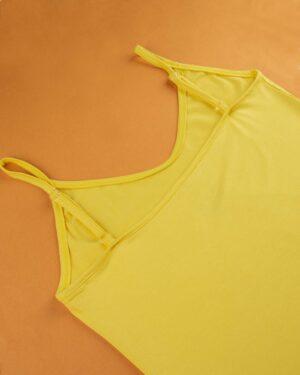 تاپ زنانه 0699- زرد (3)
