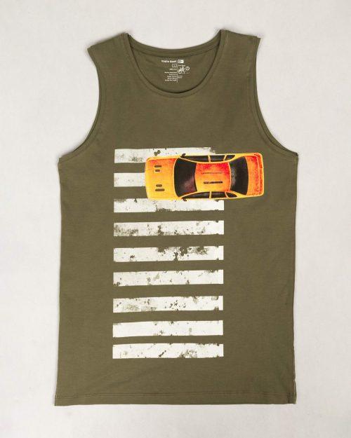 تاپ مردانه VKC135-T4- سبز ارتشی (1)
