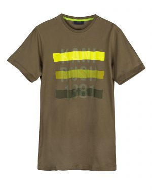 تیشرت مردانه 1440- سبز ارتشی (4)