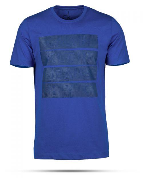 تیشرت مردانه 99422- آبی کاربنی (1)