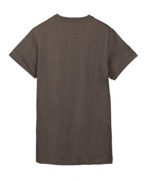تیشرت مردانه vk98- طوسی قهوه ای (2)