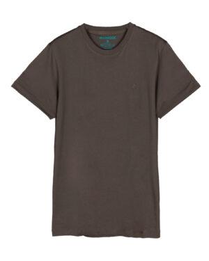 تیشرت مردانه vk98- طوسی قهوه ای (3)