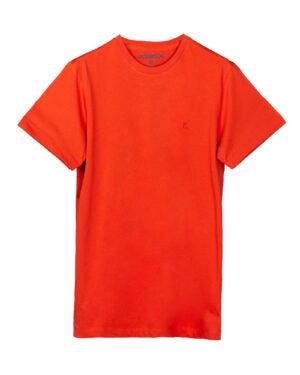 تیشرت مردانه vk98- قرمز نارنجی (2)