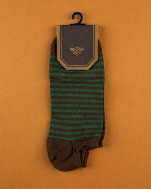 جوراب نخی 2T1- سبز ارتشی (3)