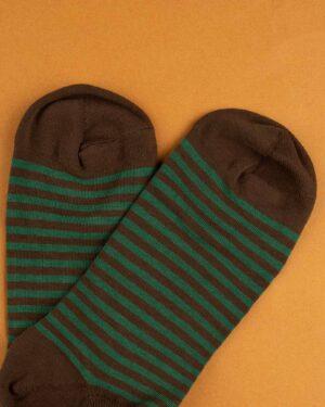 جوراب نخی 2T1- سبز ارتشی (4)جوراب نخی 2T1- سبز ارتشی (4)