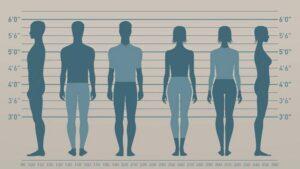 راهنمای انتخاب سایز برای اندازه های مختلف