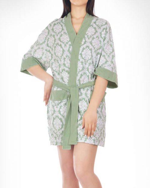 ربدوشامبر زنانه 0720- سبز (1)