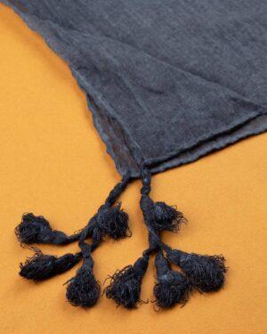 شال زنانه نخی 1441- آبی بنفش (2)