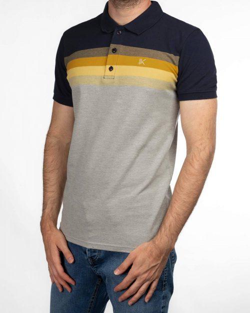 پلوشرت مردانه 3802- زرد (1)