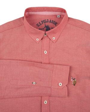 پیراهن مردانه 11031-T21- صورتی (2)