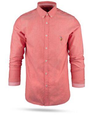 پیراهن مردانه 11031-T21- صورتی (3)