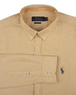 پیراهن مردانه 11031-T21- هلویی (2)