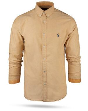 پیراهن مردانه 11031-T21- هلویی (3)