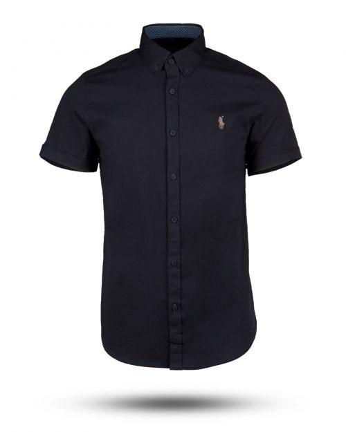 پیراهن مردانه 1141-T1- سرمه ای تیره (1)