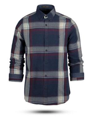 پیراهن نخی مردانه VK990- قرمز (2)