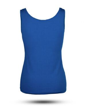 تاپ نخی زنانه 1355- آبی کاربنی (2)