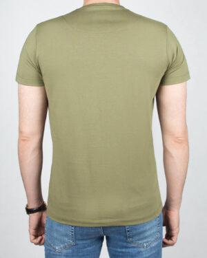 تیشرت بیسیک مردانه VKTI981101- زیتونی (2)