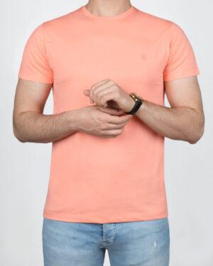 تیشرت بیسیک مردانه VKTI981101- صورتی (1)