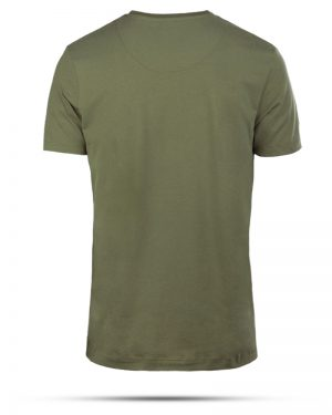 تیشرت مردانه R98-T7- زیتونی (2)
