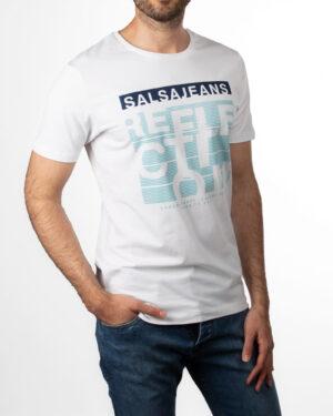 تیشرت مردانه R98-T7- سفید (3)