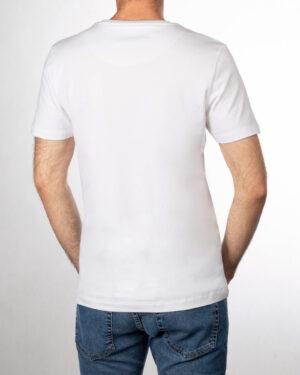 تیشرت مردانه R98-T7- سفید (4)