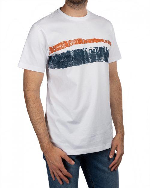 تیشرت نخی مردانه 2011- سفید (4)
