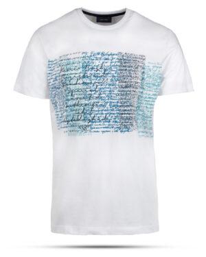 تیشرت نخی مردانه 2012- سفید (1)